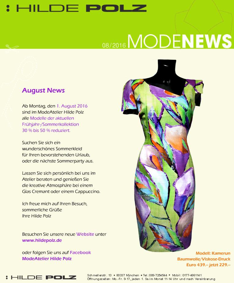 Sommerkollektion reduziert, bis zu 50 %, Sommerkleid, Maxikleid, Etuikleid bunt,