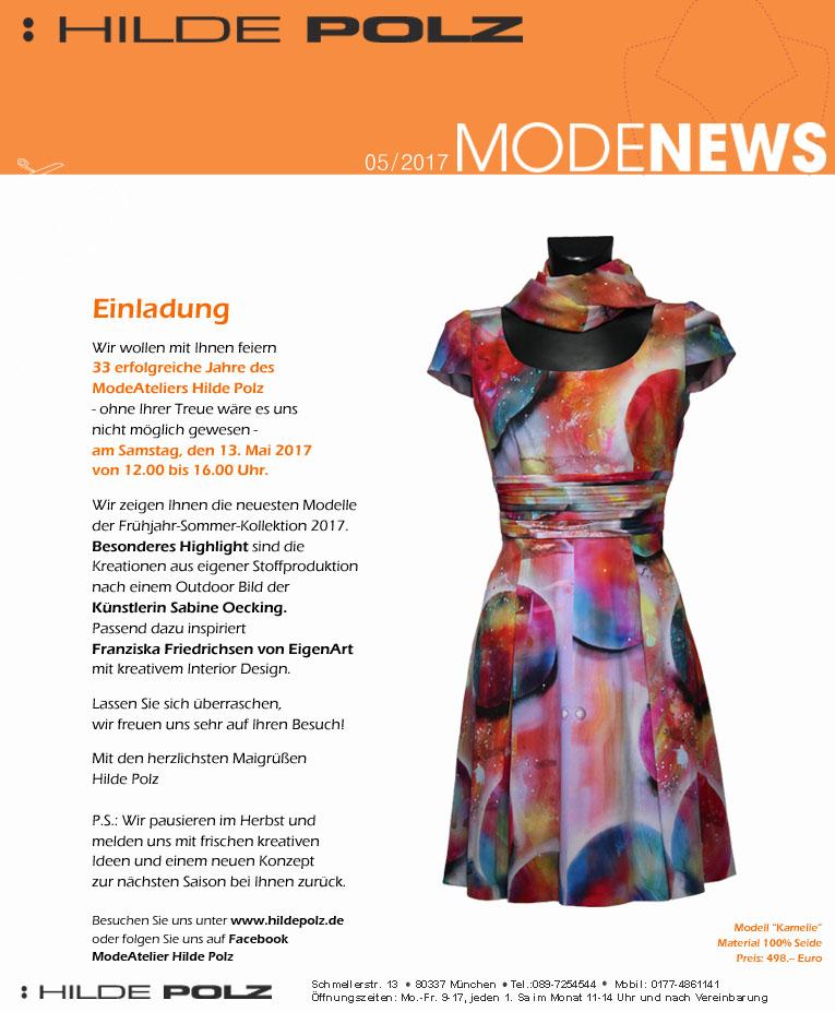 Mode und Kunst, Modellkleider, Designerkleid,