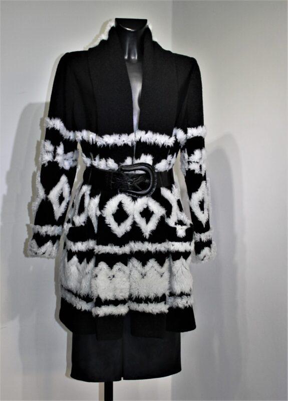 Schwarz Weiß Mode